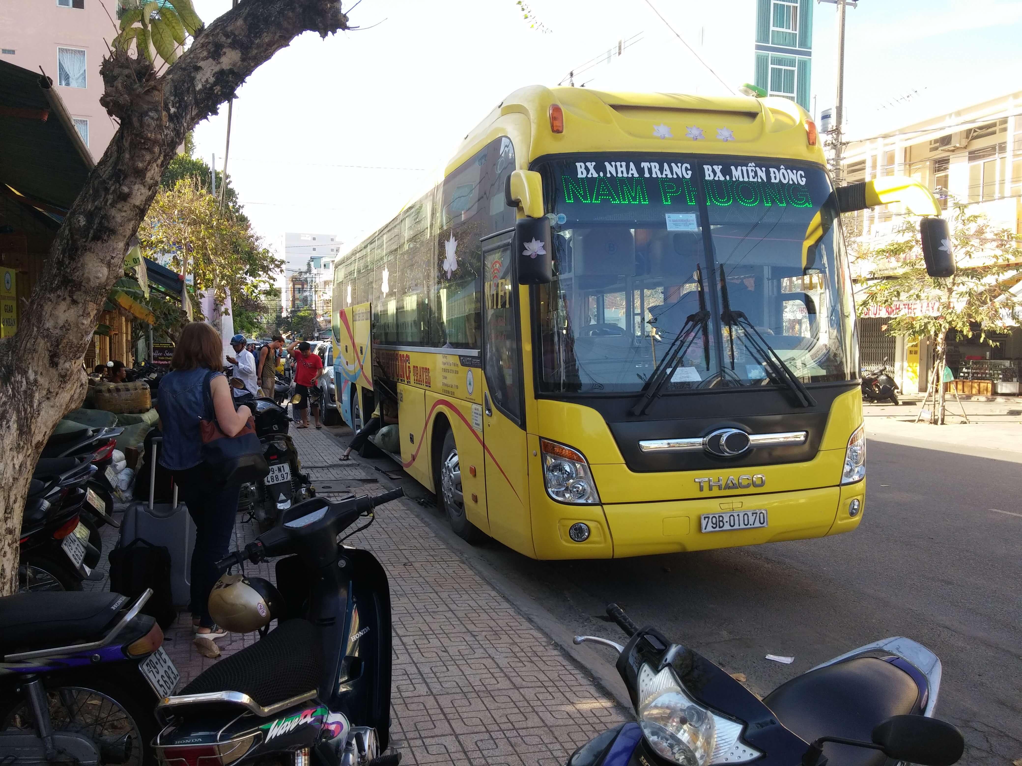 Вьетнамский спальный автобус