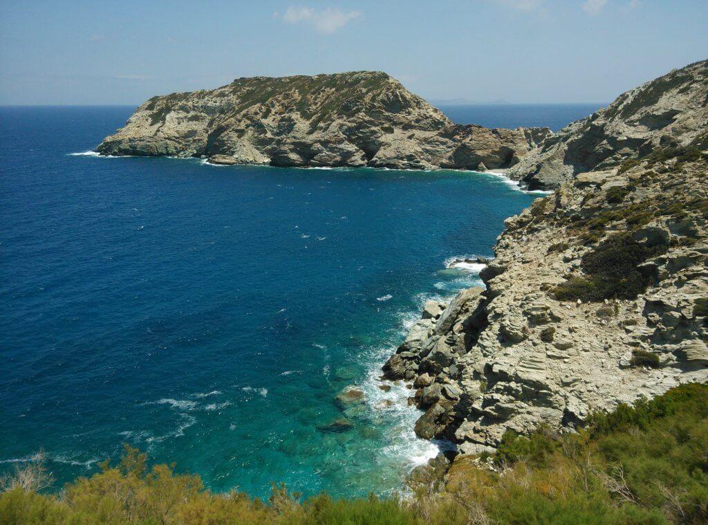Скалистые берега Крита