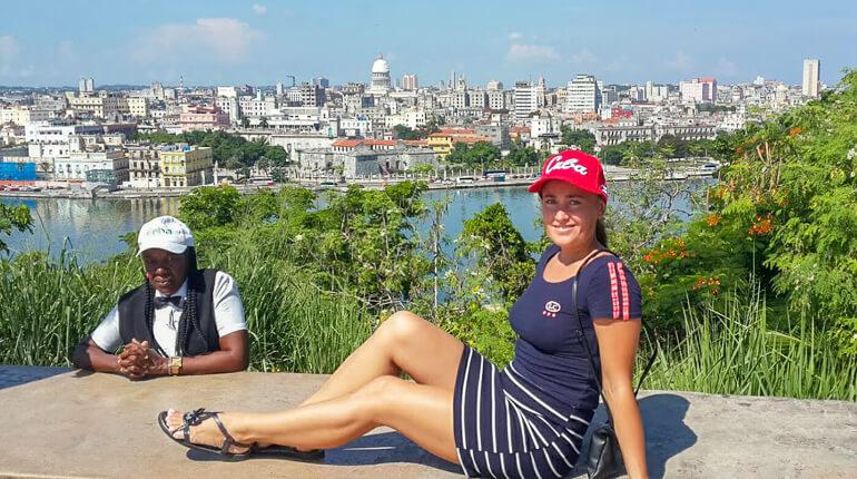 Вид на Гавану