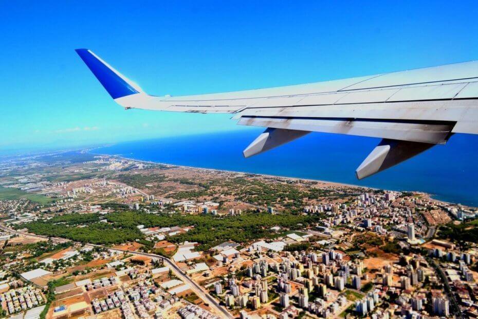Анталия с самолета
